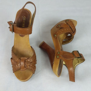 GUESS by Marciano Heels Like New Women's 8.5 M